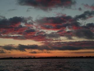 Sunset, sun, sundown