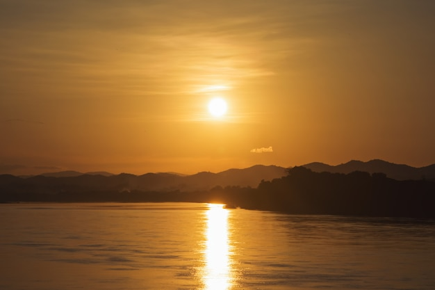 Sunset sunrise bright colors beautiful sky ,dramatic sunset and sunrise sky