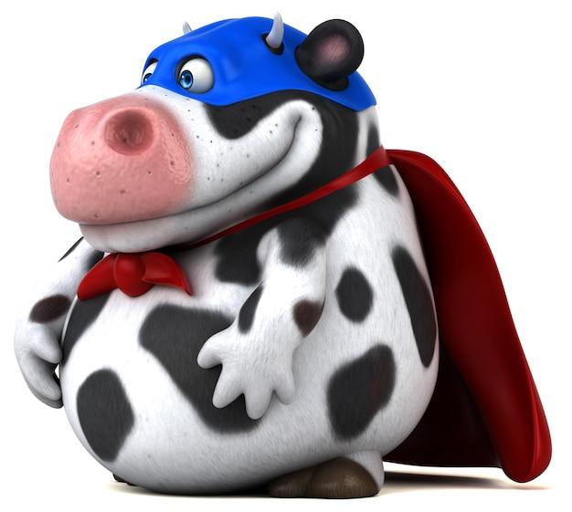 Супер анимация коровы