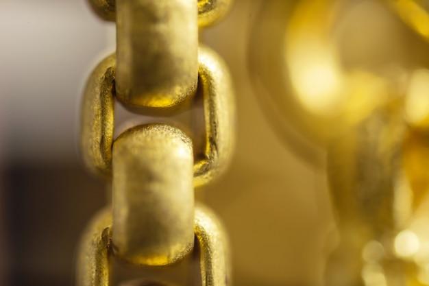 Super macro of gold jewelry background
