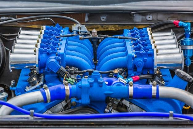 Super muscle  car engine