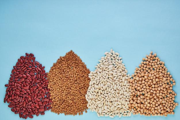 スーパーフード、豆、種子