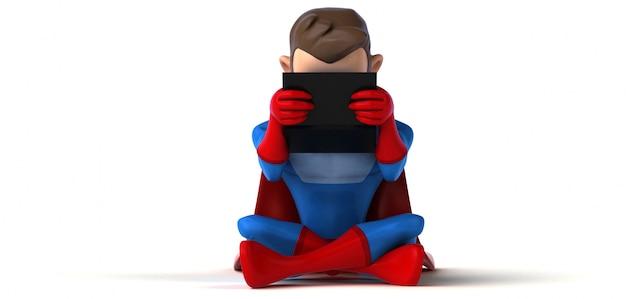 スーパーヒーローコーディング3 dイラストレーション