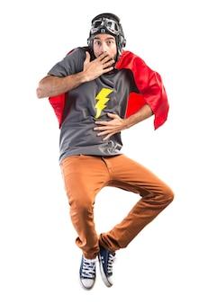 Супергерой делает неожиданный жест