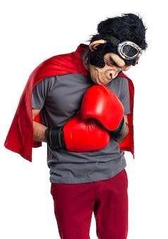 Superhero monkey man