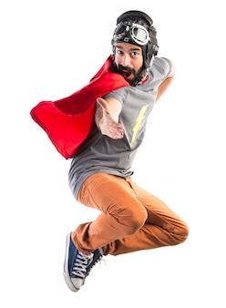 Супергерой приветствует