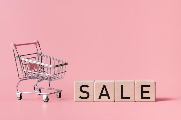 Supermarket car and inscription sale