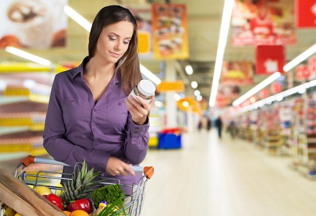 スーパーマーケット-栄養情報