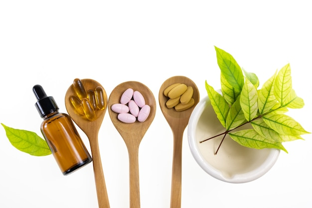 Supplement from herb natural food
