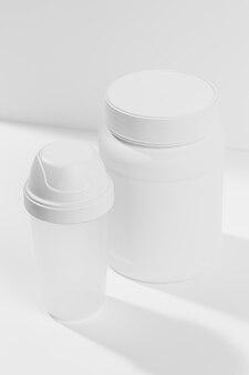 Supplement for gym jar