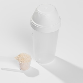 Supplement for gym in scoop