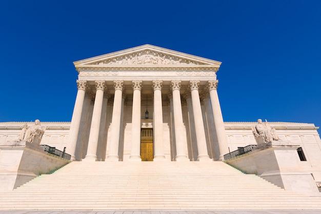 ワシントンの最高裁判所合衆国
