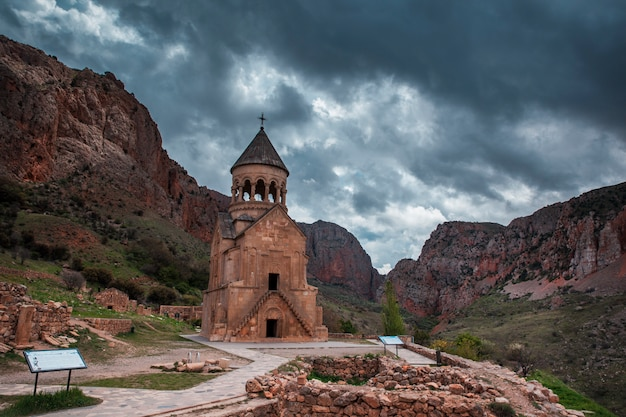 Surb astvatsatsin church of noravank monastery in armenia