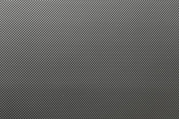 Surface of black plastic or black nylon texture background.