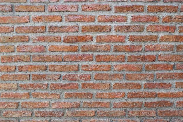 Surface of brick wall
