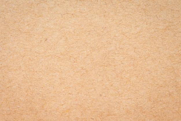 背景の表面茶色の紙箱テクスチャ抽象