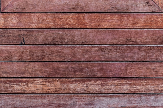Surface of an empty old wooden panel for interior design and exterior decoration.