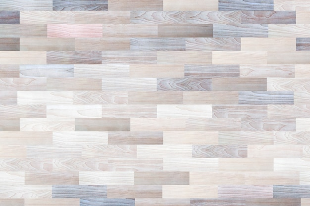 Surface from wood pattern floor