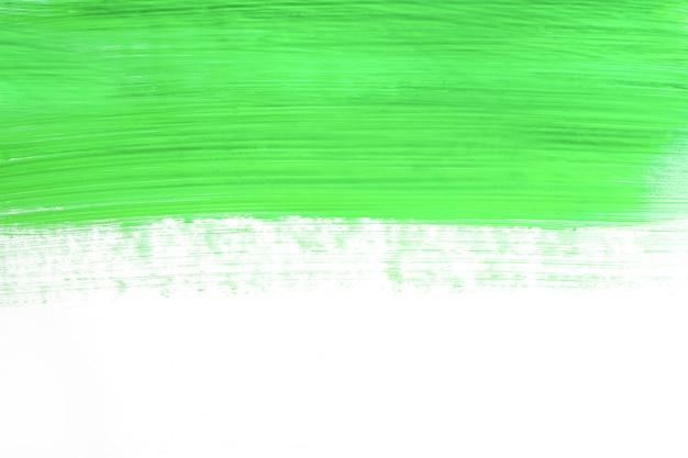 緑のペンキの表面