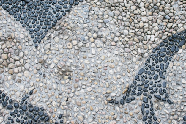 The surface of the many river stones. great for design and texture background. abstraction in nature.