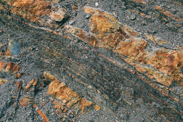 Surface of the marble with brown tint stones texture and background rock texture