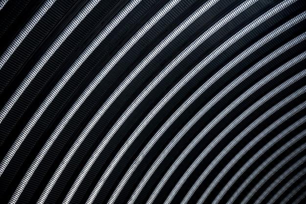 Поверхность промышленной металлической кровли. абстрактный фон.