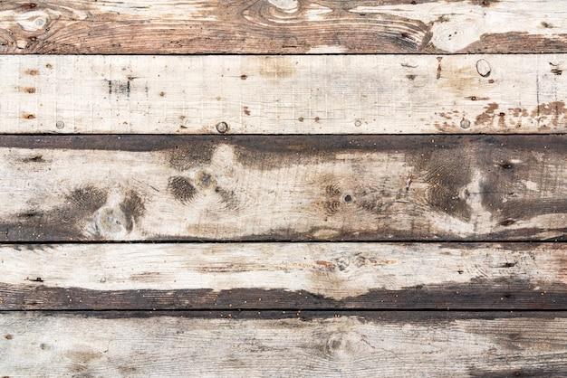 古い木製のテーブルの表面