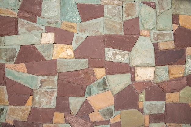 Поверхность искусственного камня разных цветов stone texture
