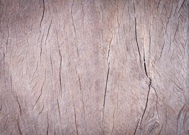 き裂の古い木目の表面。ビンテージ木材のテクスチャ背景
