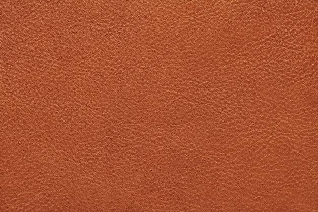 ブラウンカーフレザーの表面