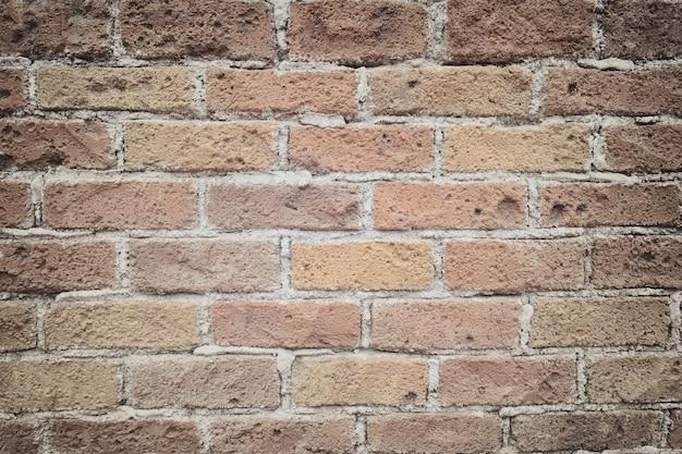 Поверхность кирпичной стены vintage