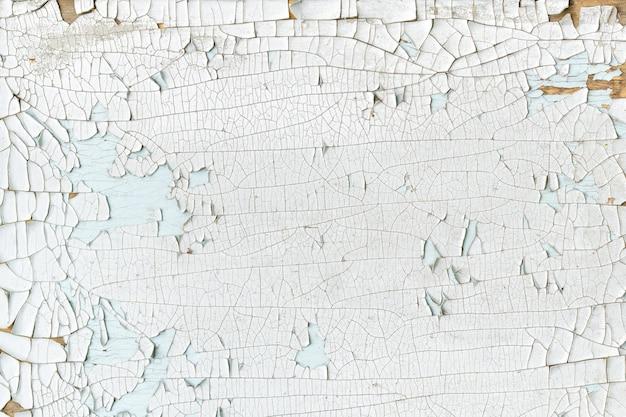 흰색 페인트 보드의 표면, 금이 표면