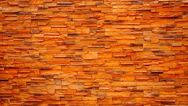 The surface of old brown and red brick walls