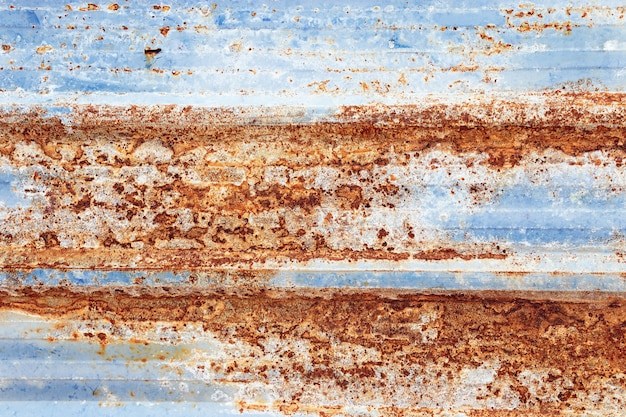 Surface of old dirty rusty of steel, abstract grunge texture