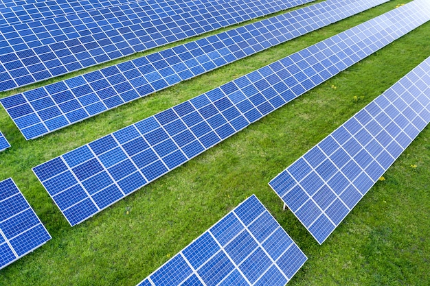 Surface of solar photo voltaic panels system producing renewable clean energy