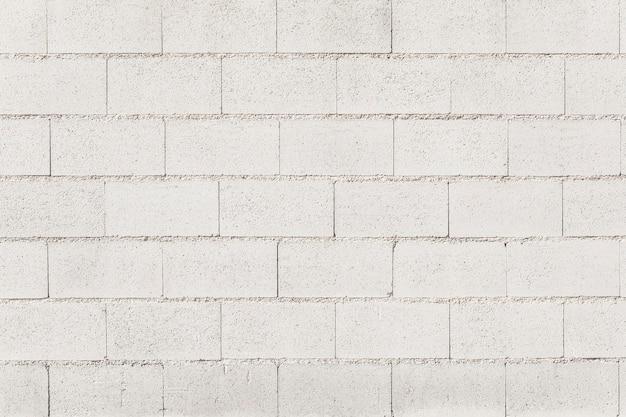 Surface of white blocks