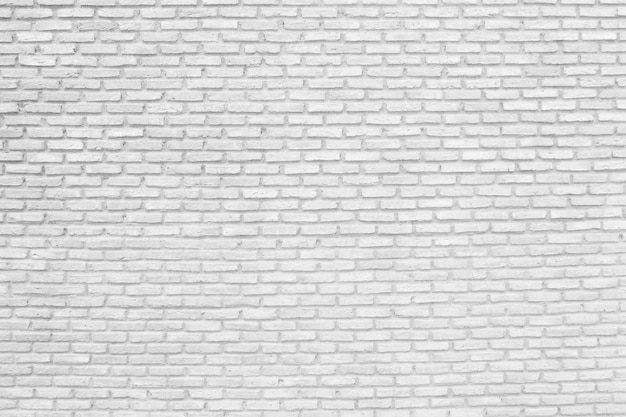 Surface of white brick wall texture background.