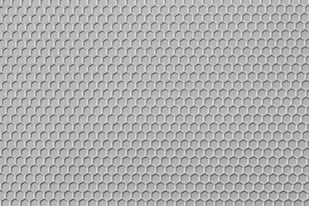 Surface of white pattern metal is a table background.
