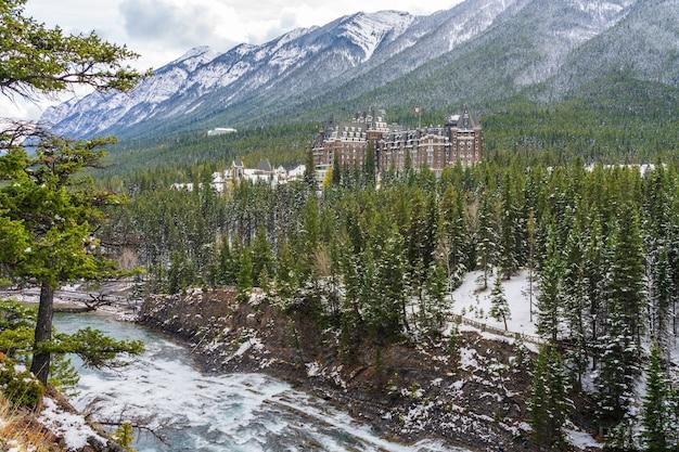 서프라이즈 코너 뷰포인트 밴프 국립공원 캐나다 로키산맥