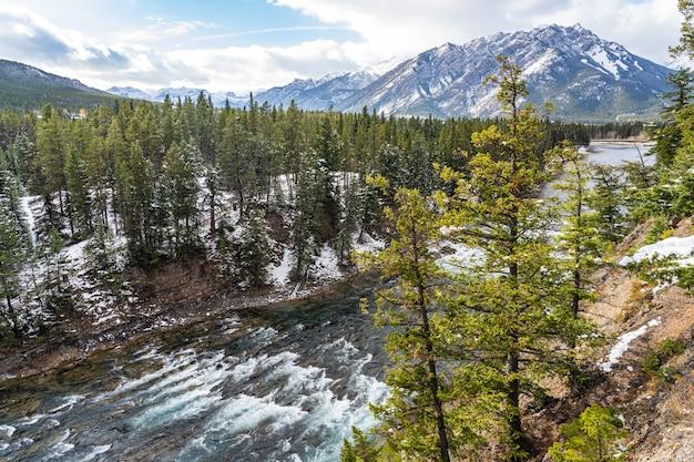 Surprise corner viewpoint banff national park canadian rockies