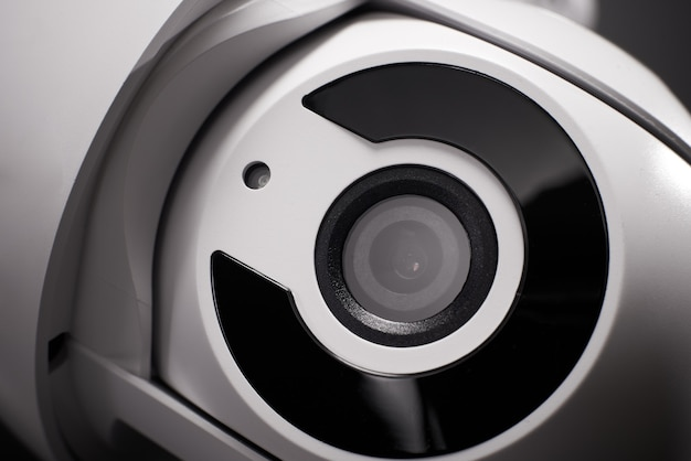 監視カメラ分離、クローズアップ。