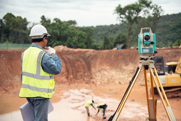 Survey measurement construction equipment