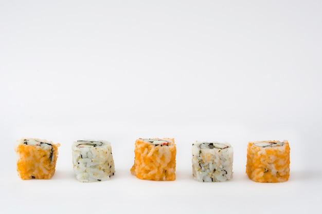 白の寿司盛り合わせ