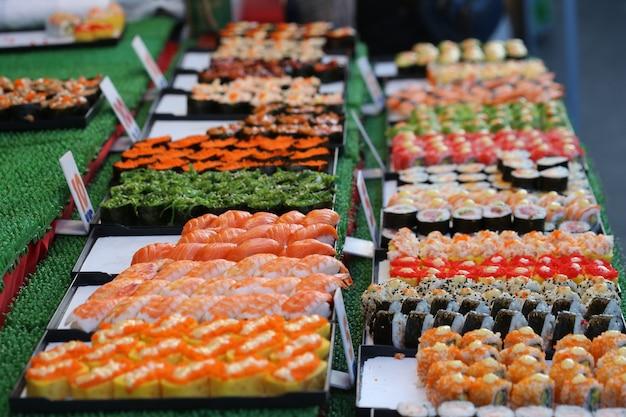 Sushi, japan food