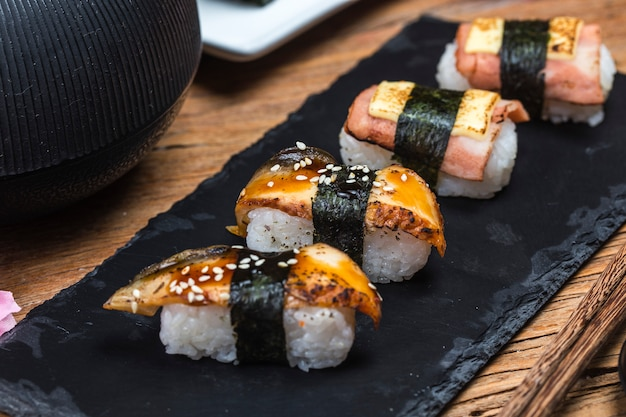 Sushi,japanese food.