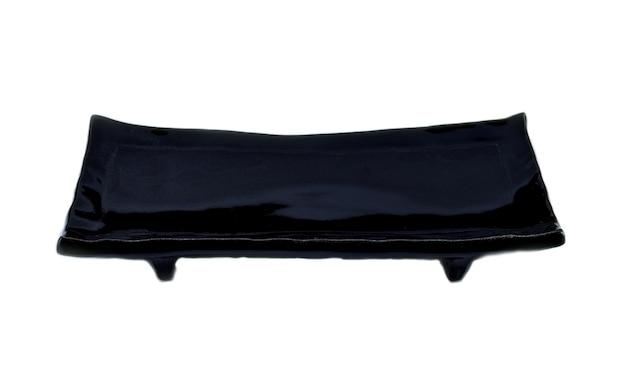 白い背景の上の寿司プレート