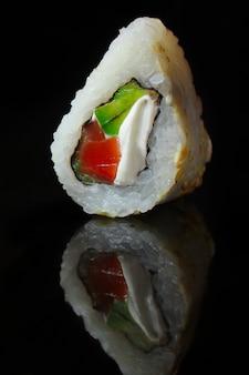 Sushi roll with tuna