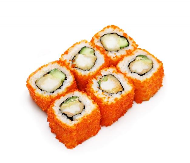 Sushi set isolated