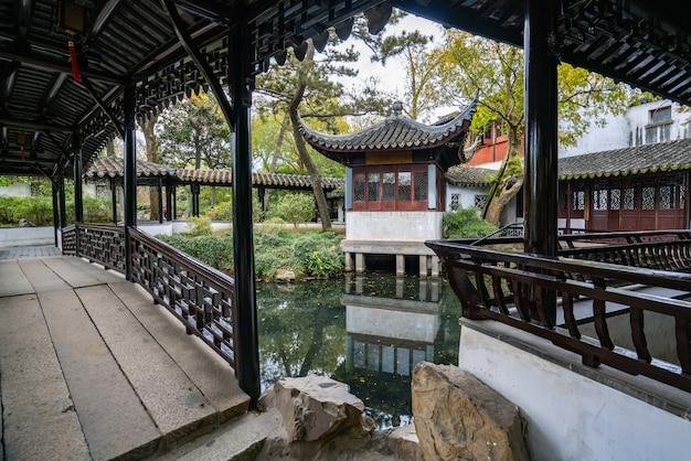 Suzhou gardens, humble administrator's garden in suzhou, china