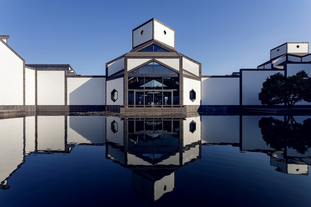 Suzhou museum design by ieoh ming pei